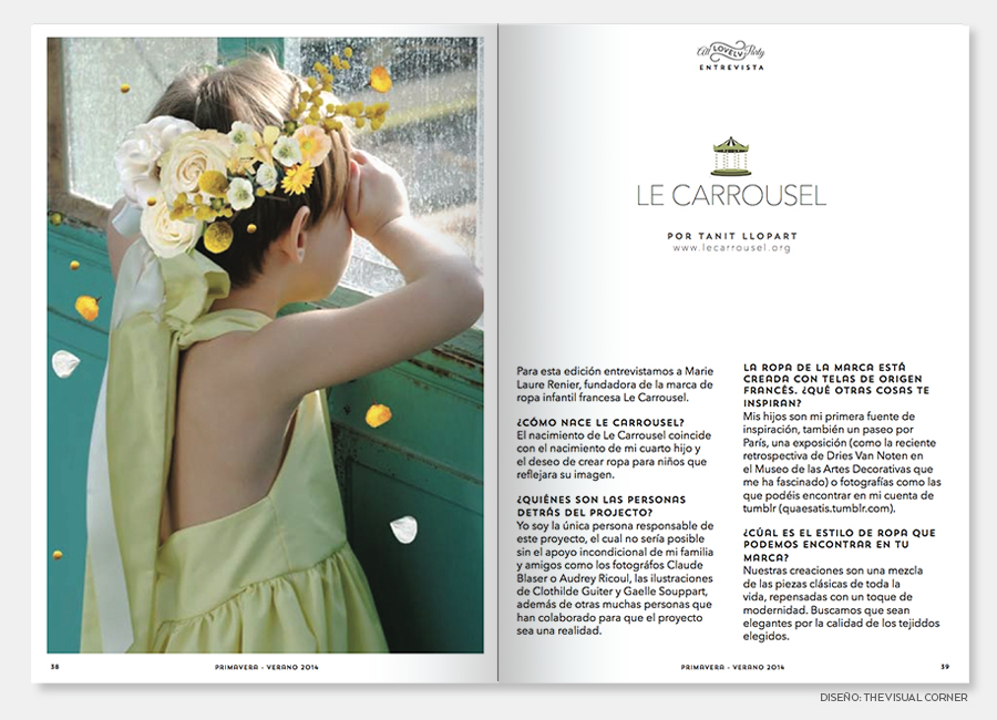 Magazine design in Barcelona by The Visual Corner studio