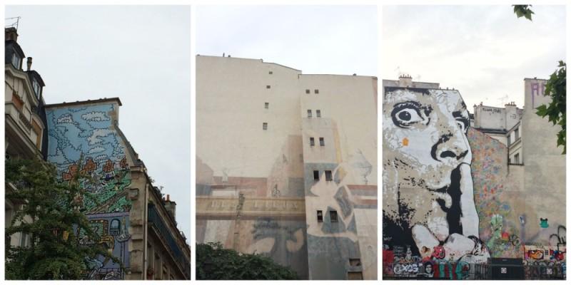 Graffitis en Paris
