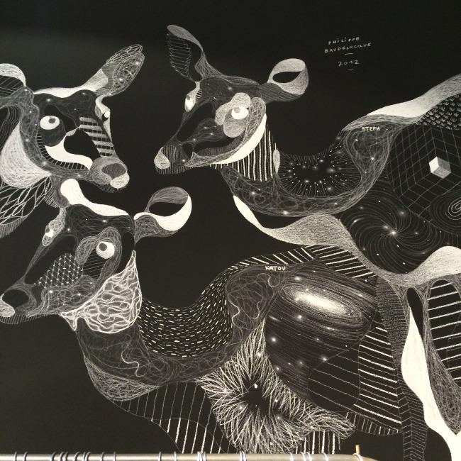Philippe Baudelocque chalk illustration