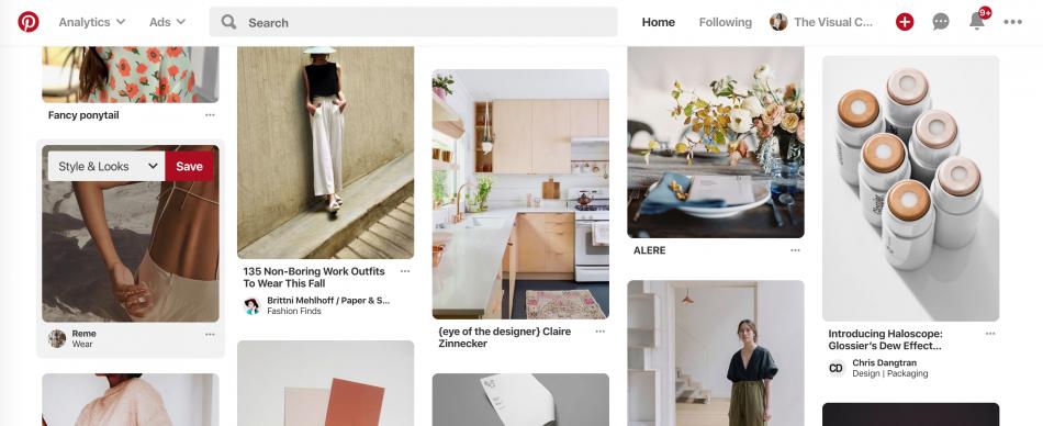 Como crear un tablero de Pinterest