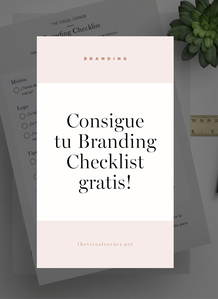 Branding checklist por thevisualcorner